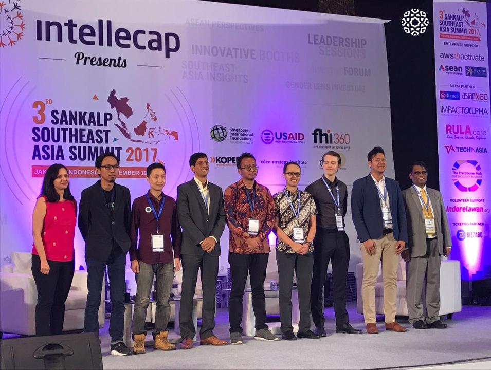 Amartha menjadi juara dalam Sankalp South East Asia Award 2017