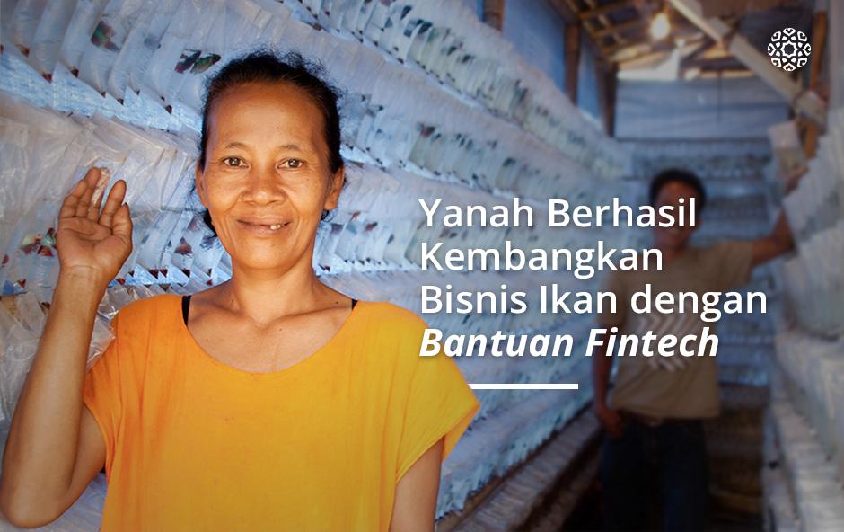 Yanah Berhasil Kembangkan Usaha Ternak Ikan Berkat Bantuan Fintech