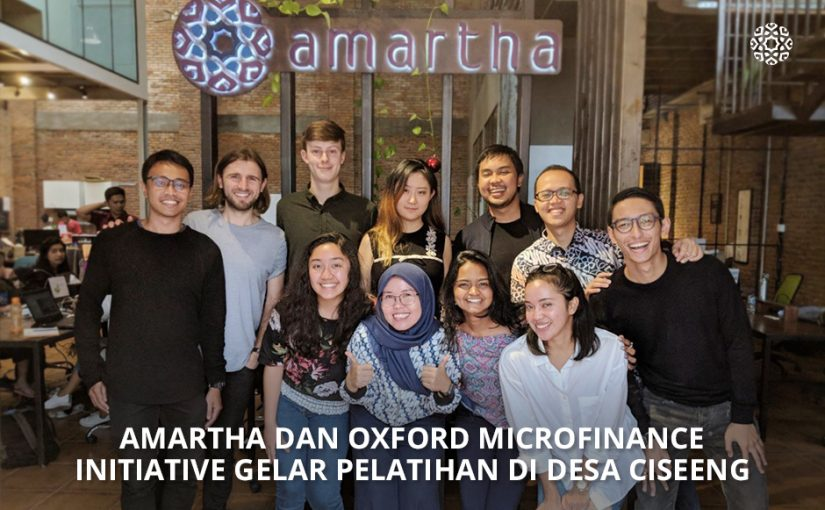 Amartha dan Oxford Microfinance Initiative Gelar Pelatihan di Desa Ciseeng