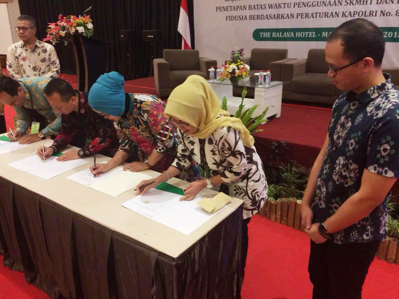 Empat BPR Malang menandatangani MOU dengan Amartha