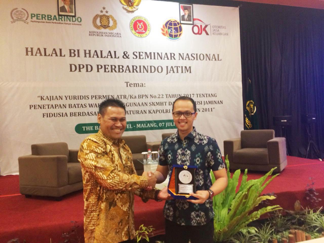 Kerjasama Amartha dengan BPR Malang 2018