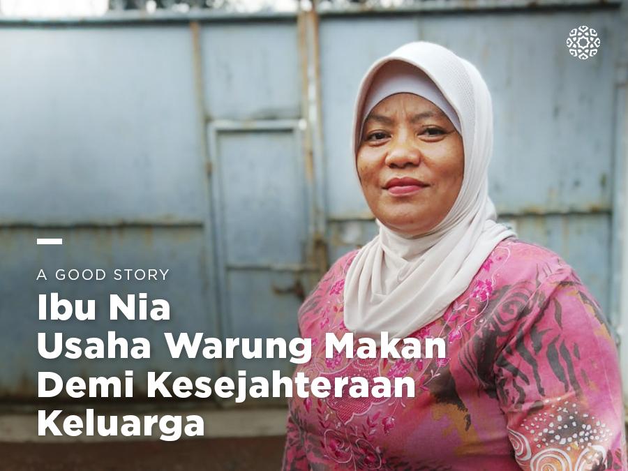 Ibu Nia, Usaha Warung Makan Demi Kesejahteraan Keluarga