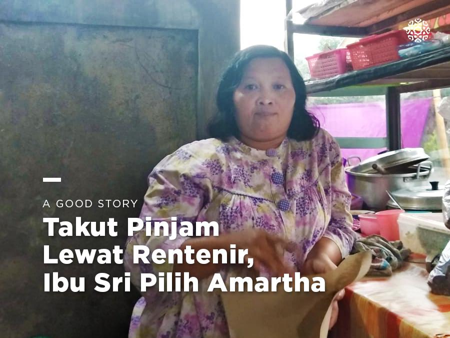 Takut Pinjam Lewat Rentenir, Ibu Sri Pilih Amartha