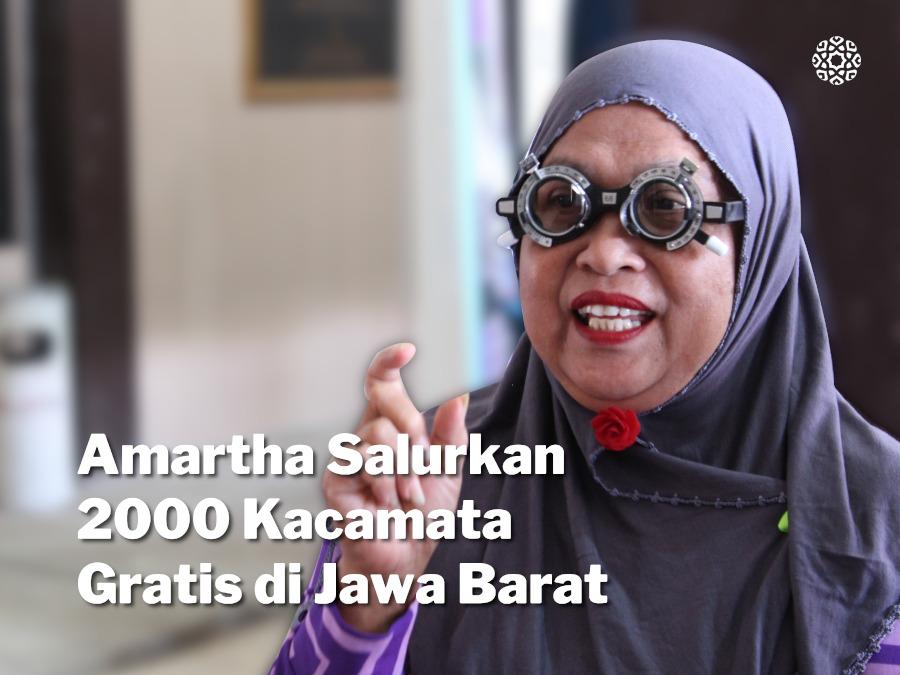 Amartha Sebarkan 2000 Kacamata Gratis di Jawa Barat