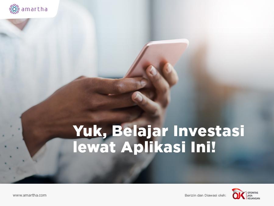 Yuk, Belajar Investasi lewat Aplikasi Ini!