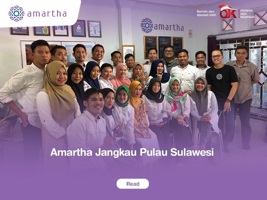Amartha Jangkau Pulau Sulawesi