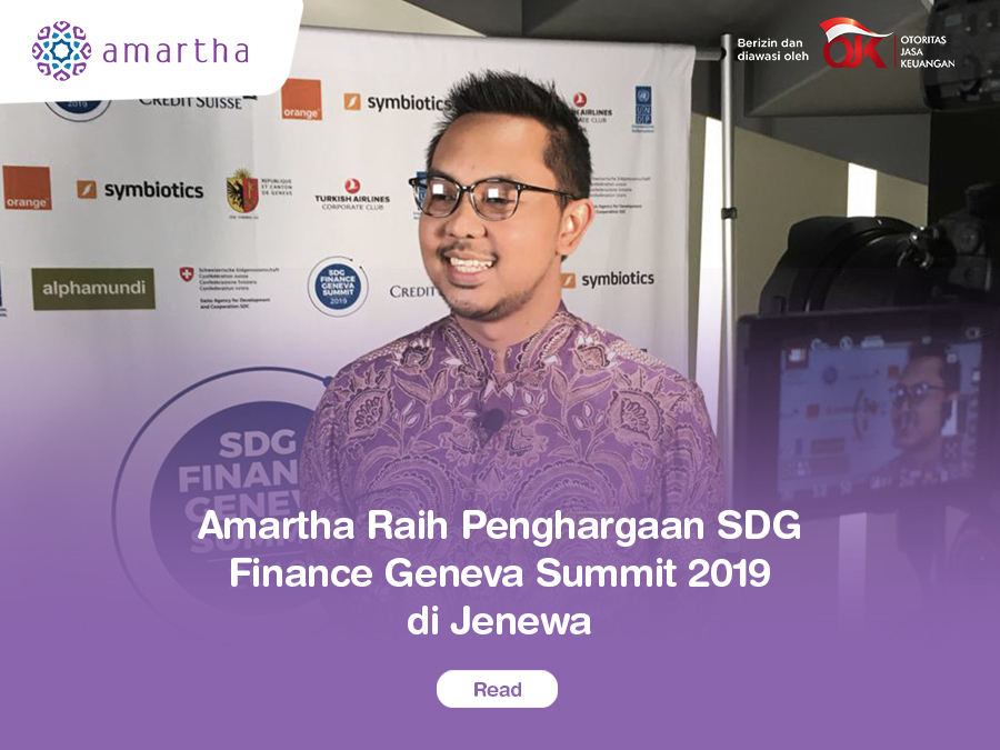 Amartha Raih Penghargaan SDG Finance Geneva Summit 2019 di_Jenewa