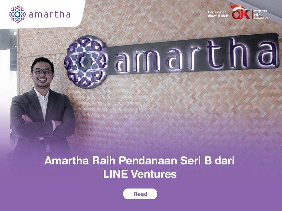 Amartha Raih Pendanaan Seri B dari LINE Ventures Siap Ekspansi Seluruh Indonesia