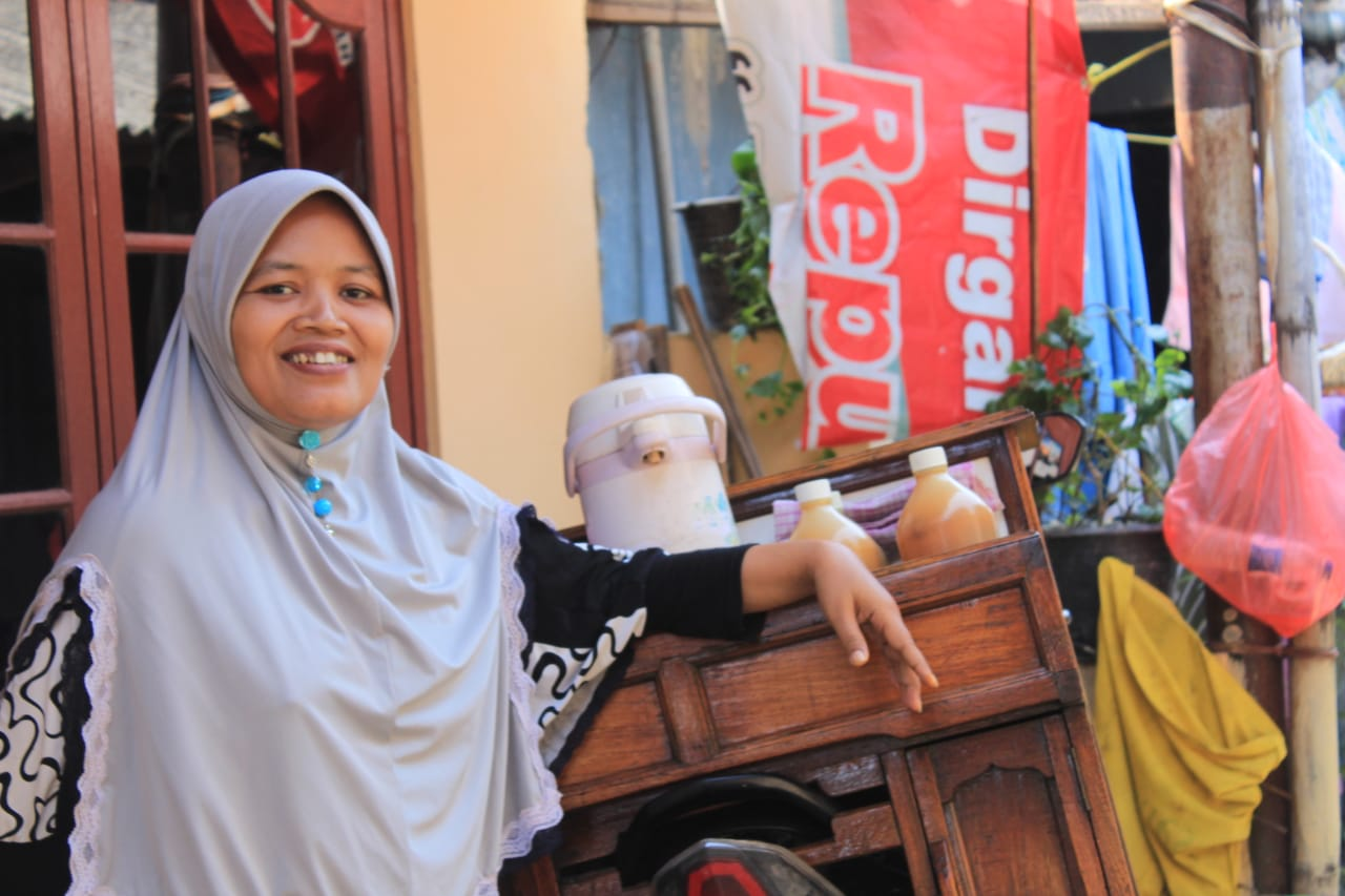 Ibu Suyamti dan usaha jaumunya di Indramayu