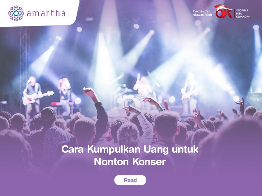 ara Mengumpulkan Uang untuk Nonton Konser