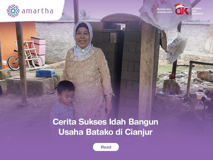 Cerita Sukses Idah Bangun Usaha Batako di Cianjur